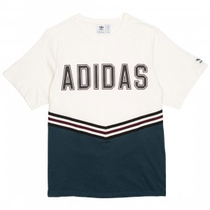 Adidas Women Adibreak Tee (white / chalk white / midnight)