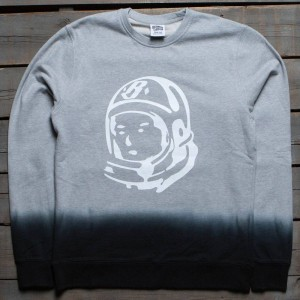 Billionaire Boys Club Men BB Two Tone Sweater (gray / black)