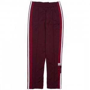 Adidas Women Adibreak Track Pants (red / maroon)