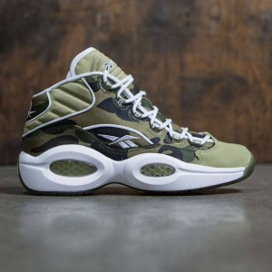 Reebok X Bape Men Question Mid (camo / white)