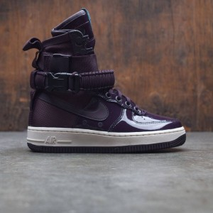 Nike Women Air Force 1 Sf Special Edition Premium (port wine / port wine-space blue)