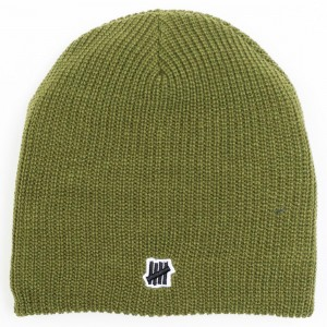 Undefeated 5 Strike Beanie (olive)