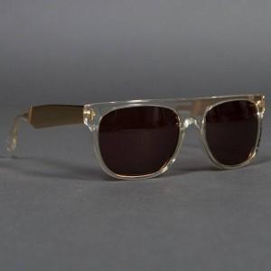 Super Sunglasses Flat Top (silver / crystal)