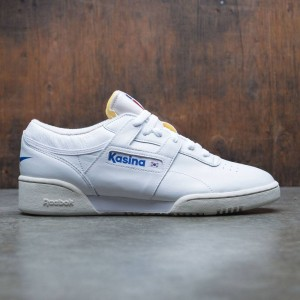 Reebok x Kasina Men Workout Low Clean (white / team dark royal / excellent red / chalk)