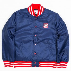 Undefeated Men Undefeated Stadium Jacket (navy)