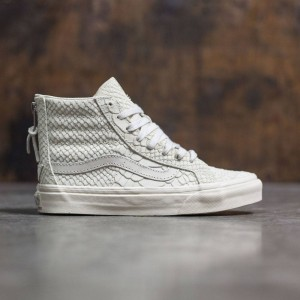 Vans Women SK8-Hi Slim Zip DX - Mono (gray / angora)