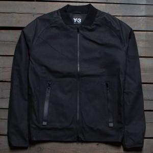 Adidas Y3 Men Leather Jacket (black)