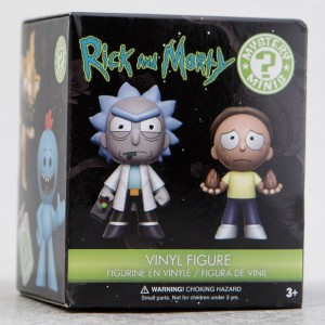 Funko Rick And Morty S1 PDQ Mystery Minis Vinyl Figure - 1 Blind Box