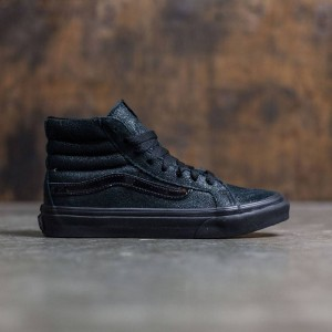 Vans Women SK8-Hi Slim - Patent Crackle (black / black)