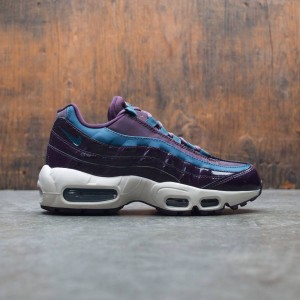 Nike Women Air Max 95 Special Edition Premium (port wine / space blue-port wine)