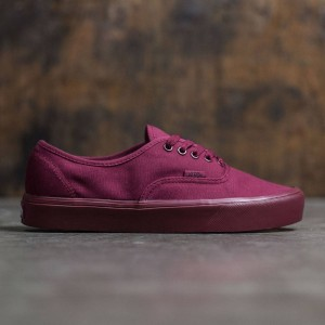 Vans Men Authentic Lite - Mono (burgundy / cordovan)