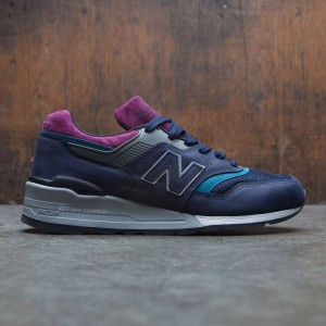 New Balance Men 997 Northern Lights M997PTB - Made In USA (navy / grey)