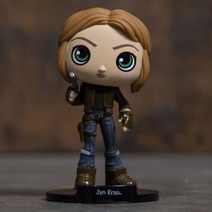 Funko Wobblers Star Wars Rogue One Jyn Erso Bobble Head (tan)
