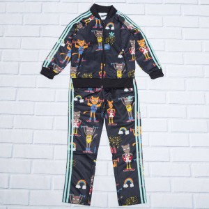 Adidas Toddlers Mini Rodini Superstar Track Suit (multi / bahia mint)
