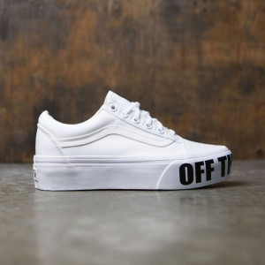 Vans Women Old Skool Platform (white / true white)