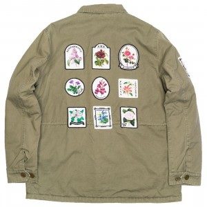 10 Deep Men Thinking Of You M65 Jacket (olive / army)