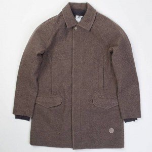 Adidas x Wings + Horns Men Coat (brown / simple brown / utility black)