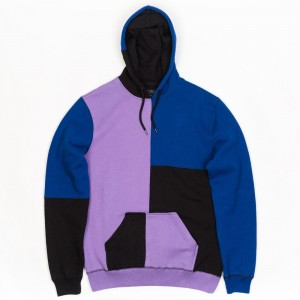 10 Deep Men Podium Fleece Hoody (black / purple)