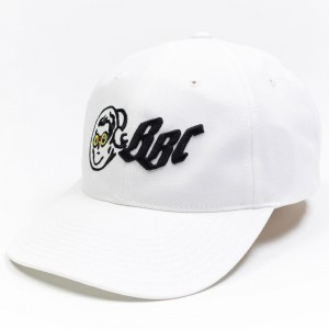 Billionaire Boys Club x Hebru Brantley OG Google Dad Hat (white)