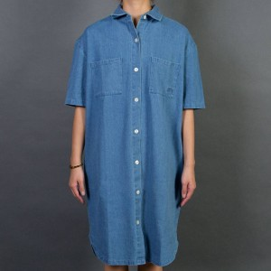 Stussy Women Vernon Denim Dress (blue / denim)