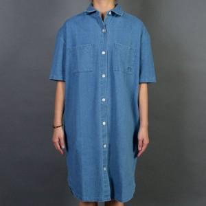 Stussy Women Vernon Denim Dress (blue / denim)