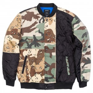 10 Deep Men Outside In Baseball Jacket (camo)