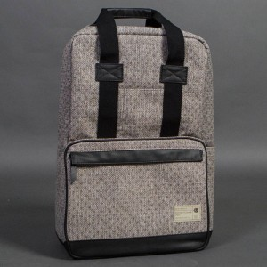 Hex Convertible Backpack (gray / dot)