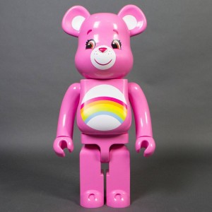 Medicom Care Bears Cheer Bear 1000% Bearbrick Figure (pink)