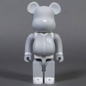 Medicom Goodenough Classic Gray 400% Bearbrick Figure (gray)