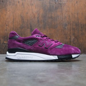 New Balance Men 998 Color Spectrum M998CM - Made In USA (purple / imperial / black)