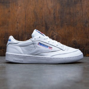 Reebok Men Club C 85 SO (white / light heather solid grey / vital blue / primal red)