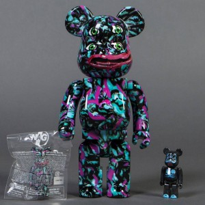 Medicom 100% 400% Nagnagnag Yotsume Version 2 100% Nag Kong Bearbrick 3 Figures Set - Limited 777 (multi)