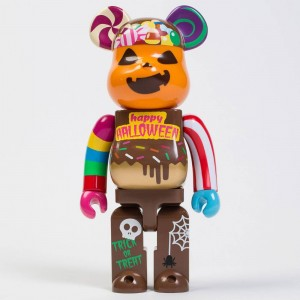 Medicom 2017 Halloween 400% Bearbrick Figure (brown)