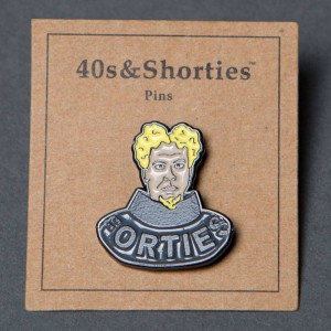 40s and Shorties High Fashion Pin (black)