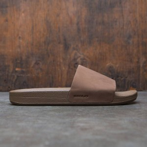 Brandblack Men Reza Slides (brown)