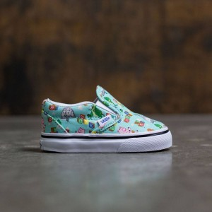 Vans x Disney Pixar Toy Story Toddlers Classic Slip-On - Andys Toys (blue / tint)