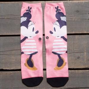 Stance Women Sassy Minnie Socks (pink)