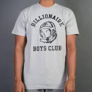 Billionaire Boys Club Men BB Collegiate Tee (gray / heather)