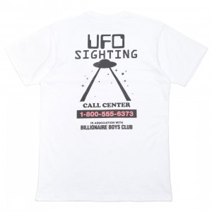 Billionaire Boys Club Men UFO Tee (white)