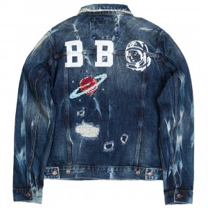 Billionaire Boys Club Men Axle Jacket (blue / cassio denim)