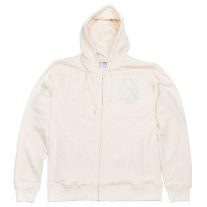 Billionaire Boys Club Men Orbit Zip Hoody (sand / angora)