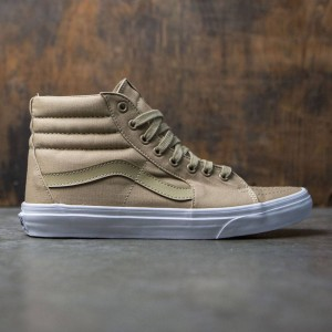 Vans Men Sk8-Hi - Mono Canvas (khaki / brown)