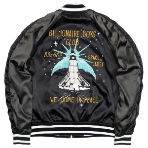Billionaire Boys Club Men Flare Jacket (black)