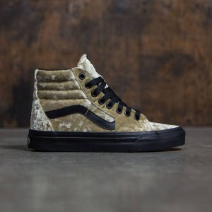Vans Women SK8-Hi - Velvet (brown / tan)