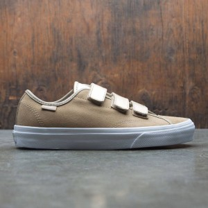 Vans Men Style 23 V - 2 Tone Metallic (yellow / cornstalk / white)