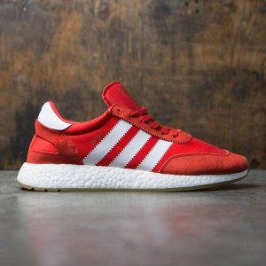 Adidas Men Iniki Runner (red / footwear white / gum)