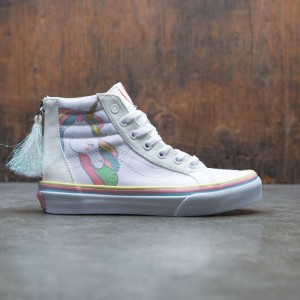 Vans Big Kids SK8-Hi Zip - Unicorn (multi / rainbow)