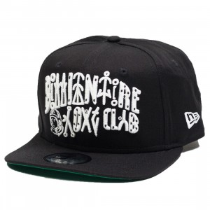 Billionaire Boys Club Lifeform Snapback Cap (black)