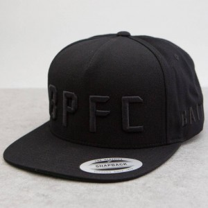 BAIT x KTTP x Bumpy Pitch snapback cap (black)