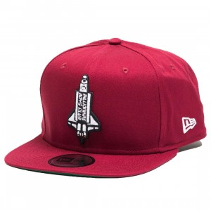 Billionaire Boys Club Booster Snapback Cap (red / cardinal)